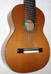 Cathedral Guitars Model 15 Classical 10-String Harp Guitar [Cedar/Mahogany]